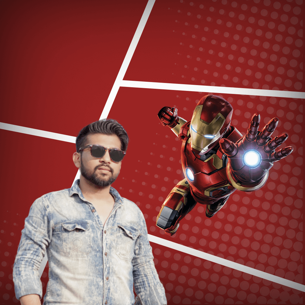 Rizwan Qureshi - a.k.a. Iron Man