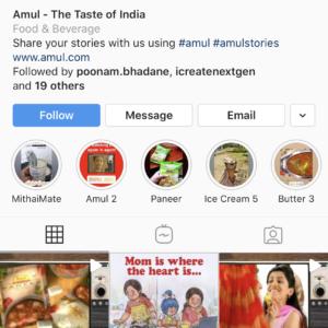 Amul Profile