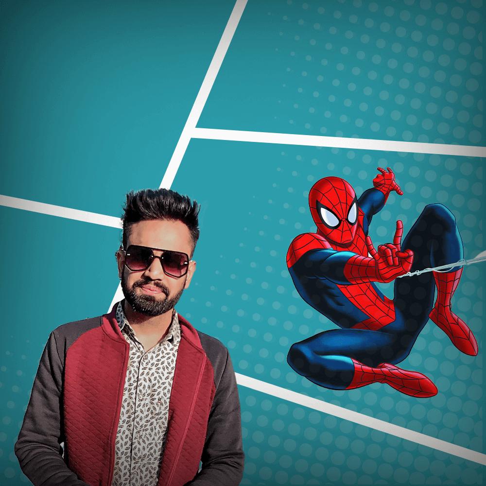 Nimit Gour - a.k.a Spiderman